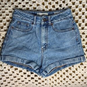 PacSun Bullhead Denim mom short size 1